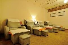 комната массажа еды Стоковое Фото