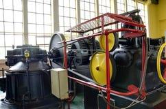 Комната машины старой электростанции Стоковое Изображение RF