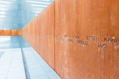 Комната мемориала холокоста Стоковое фото RF