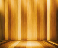 Комната панелей дуба деревянная Стоковые Фото
