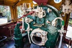 Комната парового двигателя Стоковые Фото