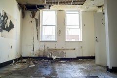 Комната повреждения воды стоковое фото