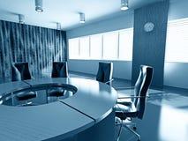 комната правления пустая иллюстрация вектора