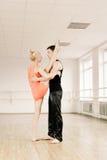 комната практики aerobics Стоковые Фото