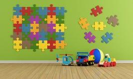 Комната ребенка иллюстрация штока