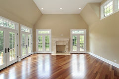 комната родного дома конструкции новая Стоковые Фотографии RF