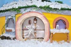 Комната рождества живущая Стоковые Изображения RF