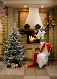 комната рождества Стоковое Изображение