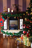 Комната рождества живущая Стоковое Фото