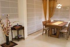 комната роскоши обеда конструкции Стоковые Фотографии RF