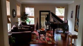 Комната рояля Стоковая Фотография