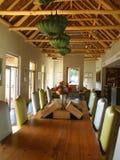 Комната самомоднейшей конструкции живущая Имущество вина Vergelegen Стоковые Изображения