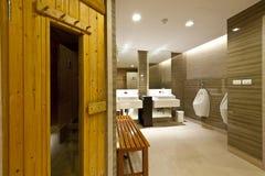 Комната сауны Стоковые Фото