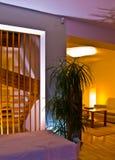 комната светов живя Стоковая Фотография