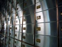 Комната сейфа Стоковые Фото