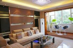 Комната семьи живущая Стоковое Изображение RF
