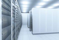 Комната сервера сети Стоковые Фотографии RF
