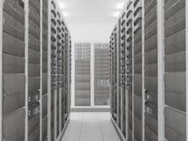 Комната сервера сети Стоковая Фотография RF