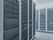Комната сервера сети Стоковые Изображения