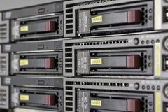 Комната сервера стоковые изображения