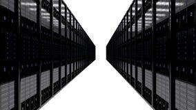 Комната сервера Стоковая Фотография RF