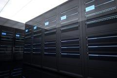 Комната сервера стоковая фотография