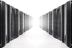 Комната сетевого сервера стоковые изображения
