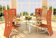 комната солнечная Стоковые Изображения