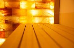 Комната соли в курорт-центре Стоковое Фото