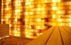 Комната соли в курорт-центре Стоковое фото RF