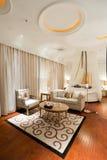 комната спальни живущая Стоковая Фотография
