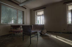 комната с sunrays Стоковое фото RF