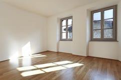 комната твёрдой древесины пола Стоковые Фото