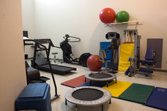 комната тренировки Стоковые Изображения RF