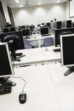 комната учить компьютера Стоковое Изображение RF