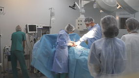 Комната хирургии видеоматериал