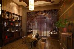 Комната чая стоковая фотография rf