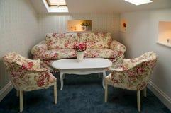 Комната чердака гостиницы Стоковые Фото