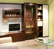 комната шкафа живущая Стоковые Изображения RF