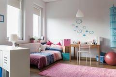 Комната для девочка-подростка Стоковое Изображение RF