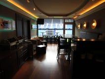 Комната для почетных гостей HSV арены imtech Гамбурга Стоковое Изображение