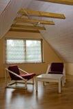 комната 3 чердаков Стоковая Фотография RF