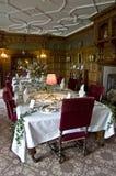 Комната Dinning дома Lanhydrock Стоковые Изображения