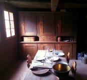 Комната Dinning Старого Мира стоковое изображение rf