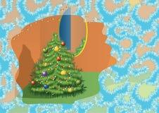 комната firtree Стоковое Фото