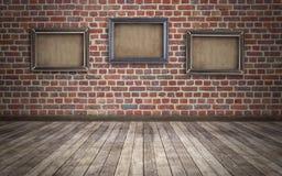 комната grunge предпосылки Стоковое Изображение RF