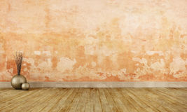 Комната Grunge пустая бесплатная иллюстрация