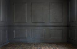 Комната Grunge старая пустая Стоковое Фото
