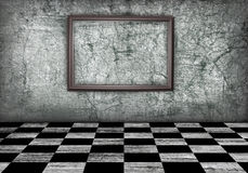 комната grunge Стоковая Фотография RF
