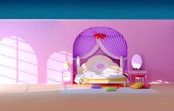 комната princess Стоковая Фотография RF